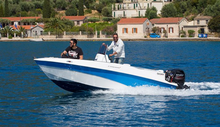 Compass 150CC with Mercury 30hp four stroke engine No license