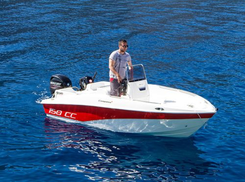 Compass 150CC with Mercury 30hp four stroke engine No license required